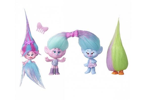 Игровой набор Hasbro Trolls (4 героя)