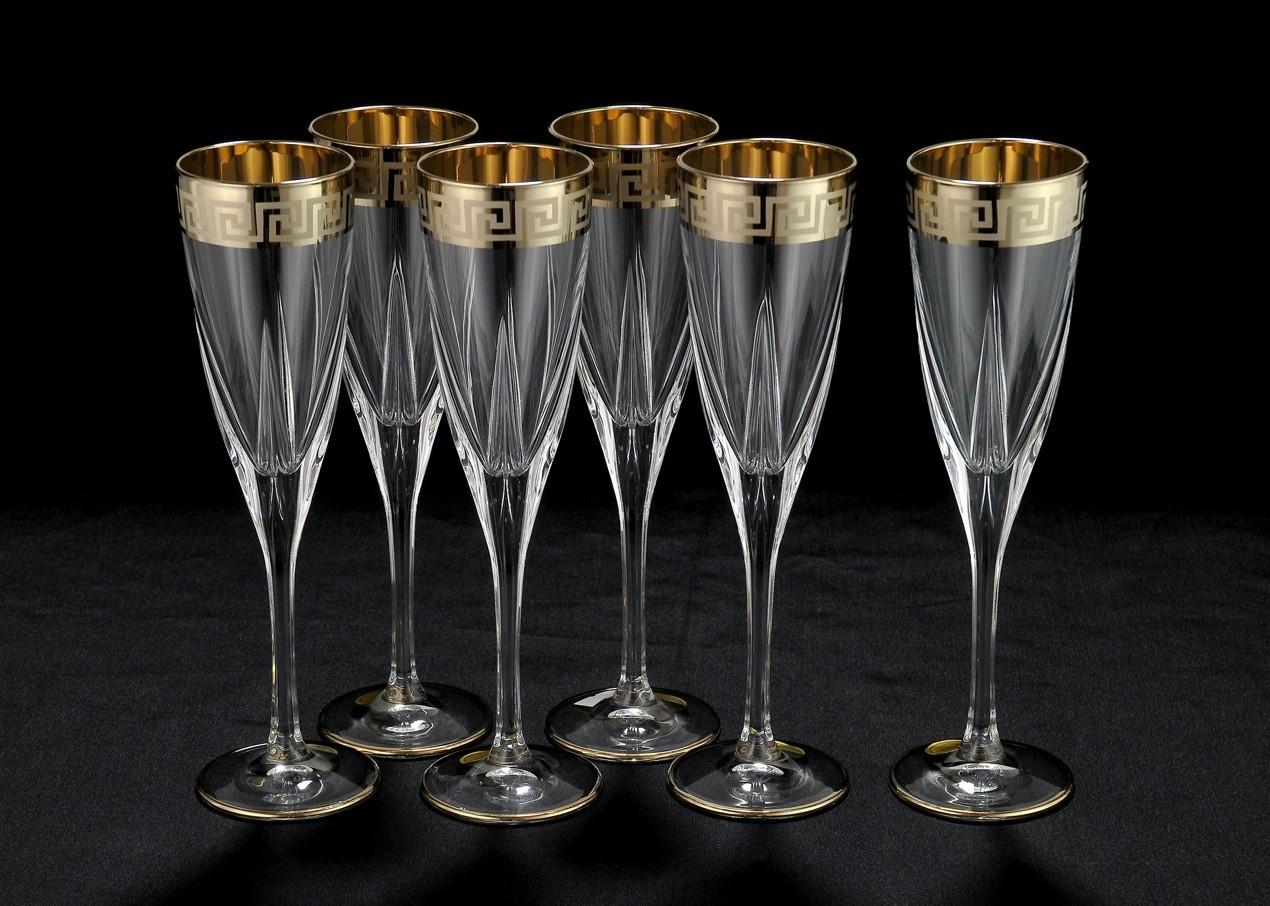 Фужеры для шампанского Same Cristallerie
