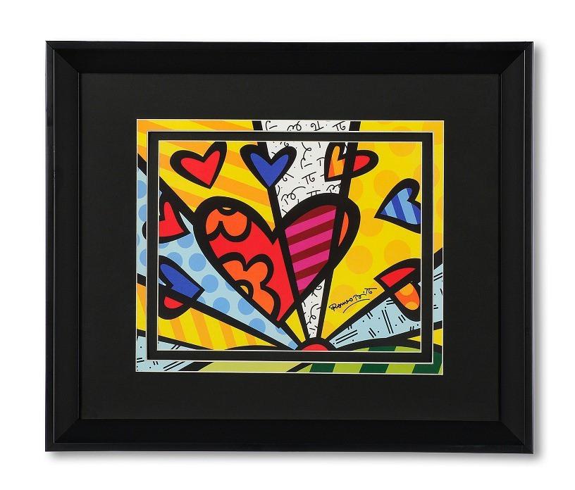 Постер HEART 45х37,5 см