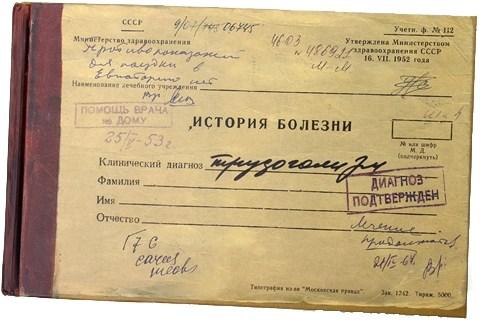 Записная книжка История болезни трудоголика