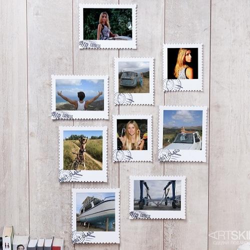 Набор фоторамок Почтовые марки