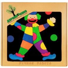 Головоломка на магнитной доске Клоун