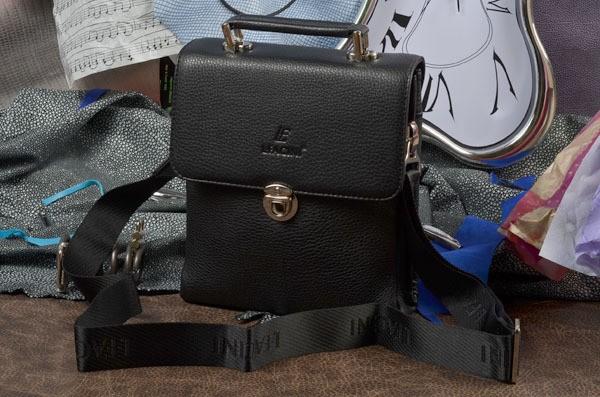 Мужская сумка из искусственной кожи L.Facini
