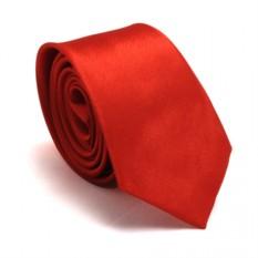 Узкий галстук (красный)