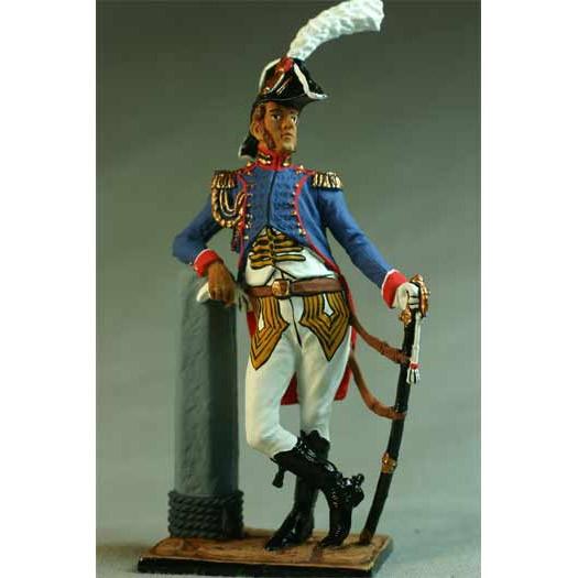 Офицер батальона моряков Имп. Гвардии. Франция, 1809-12 гг.