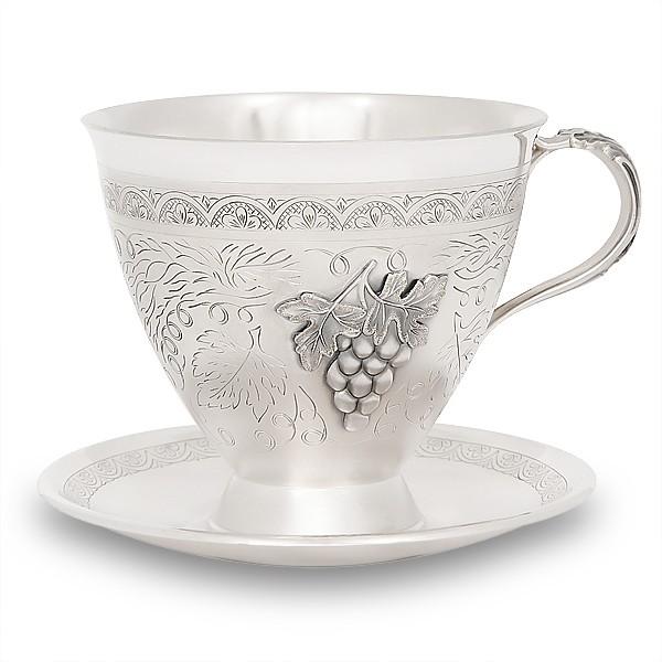 Чашка с блюдцем Мстерский Ювелир