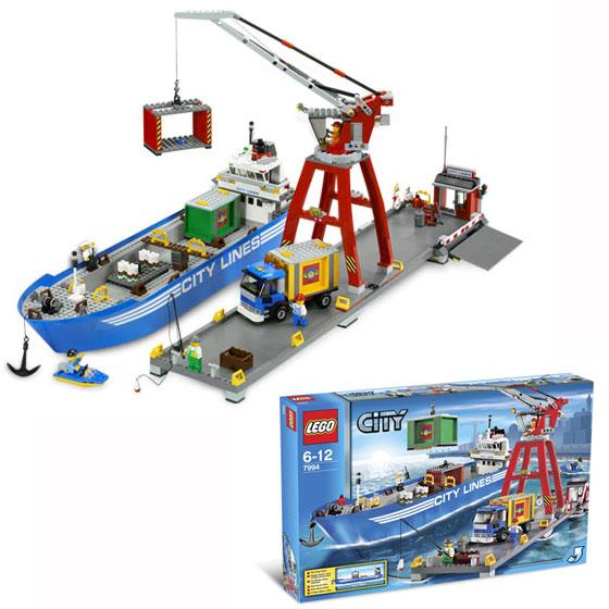 Набор Lego City Порт