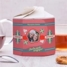 Чайный набор Для любимой подруги 2 с вашим фото