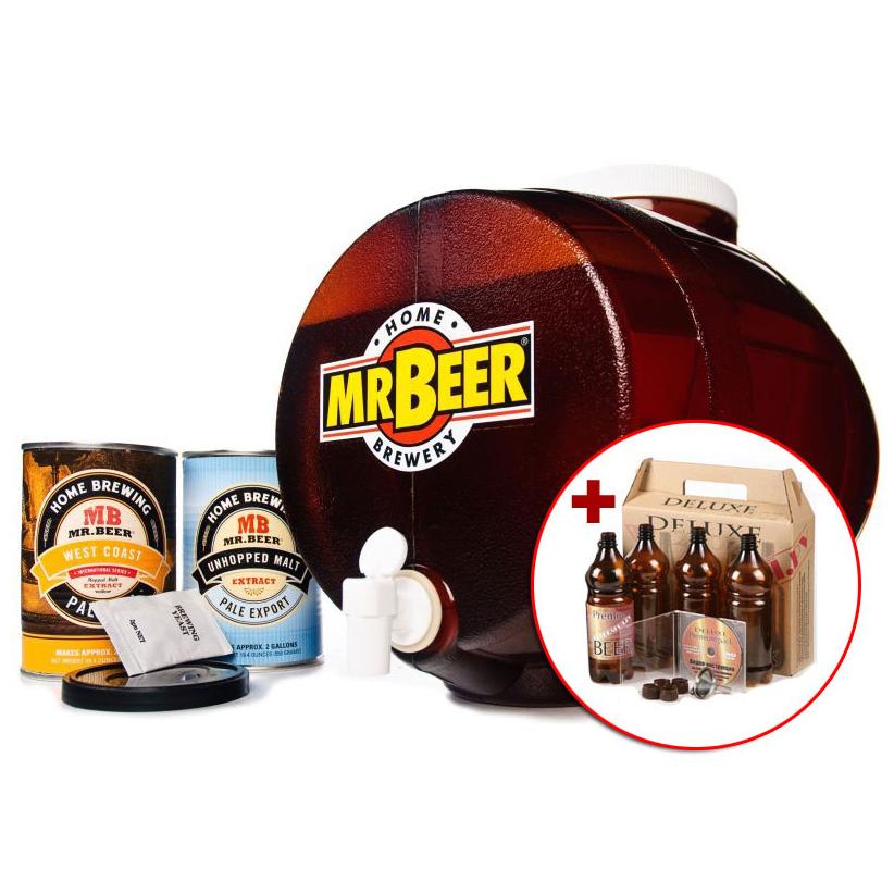 Мини-пивоварня Mr.BEER Premium Kit