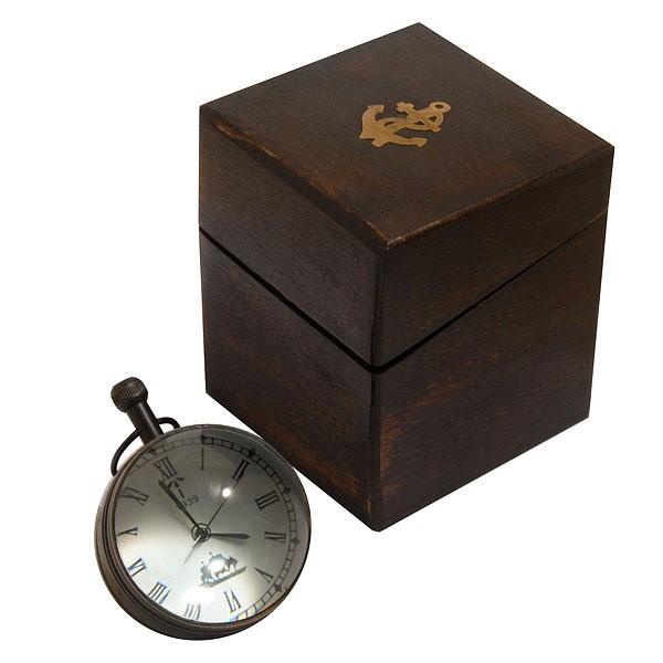 Часы-шар Хронос с декоративным компасом