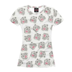 Женская футболка Влюбленные коалы