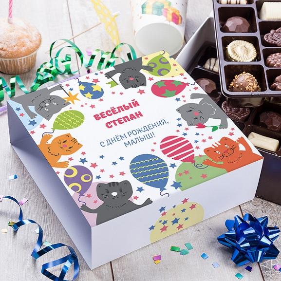 Бельгийский шоколад в подарочной упаковке Праздник детства