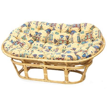 Кресло «Двойной Папасан» с подушкой