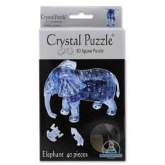 3D-головоломка Crystal Puzzle «Слон» из 40 деталей