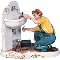 Скульптура «Сантехник»