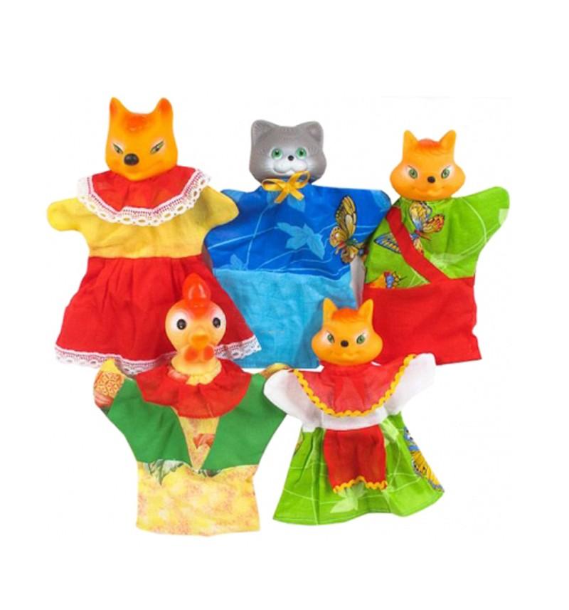 Кукольный театр Русский Стиль. Кот, петух и лиса