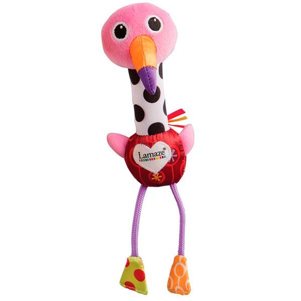 Развивающая игрушка TOMY LamazeВеселый Розовый Фламинго