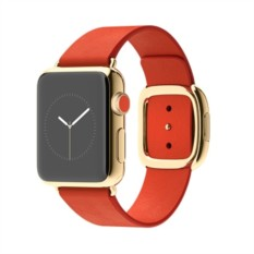 Apple Watch Edition 38mm with Bright Red Modern Buckle