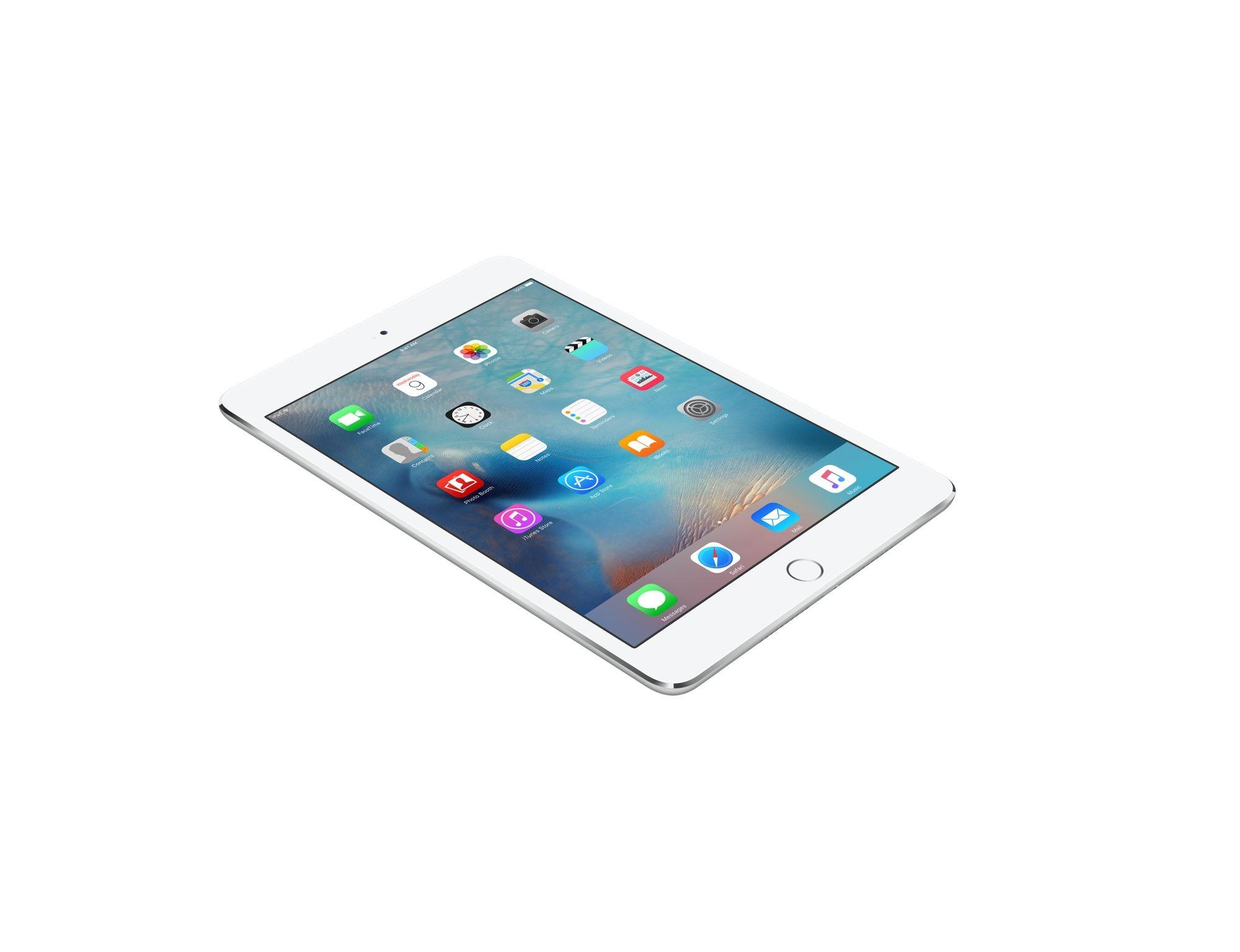 Apple iPad mini 4 128gb Wi-Fi (цвет Белый/Silver)