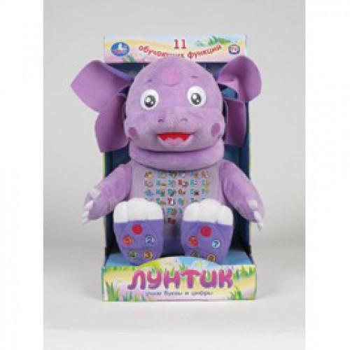Мягкая игрушка Лунтик. Учим буквы и цифры