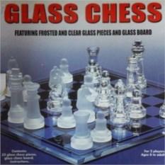 Стеклянные глянцево-матовые шахматы