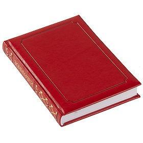 Ежедневник «Избранное», недатированный, красный