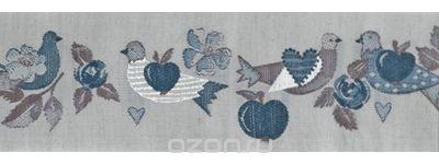 Тесьма декоративная Яблоки и голуби