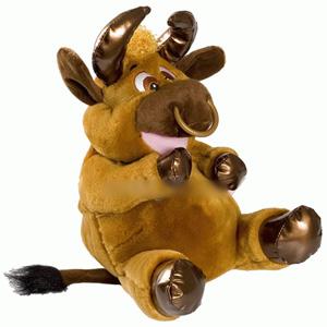 Игрушка «Праздничный бычок»
