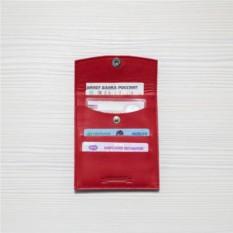 Кожаный холдер для автодокументов HK avto Mini – Red