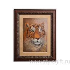 Панно-гравюра Тигр