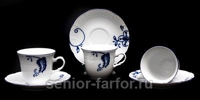 Набор для чая Thun Натали на 6 персон