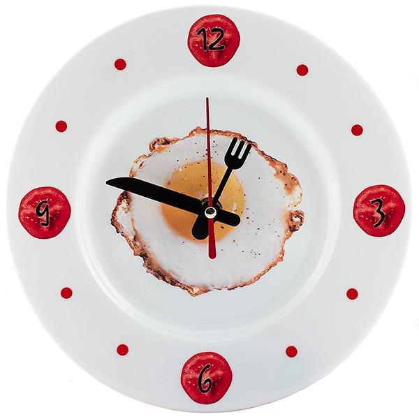 Часы Тарелка с Яичницей