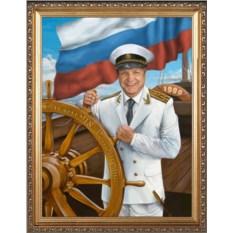 Оригинальный портрет яхтсмену