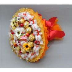 Букет из конфет Осенний вальс