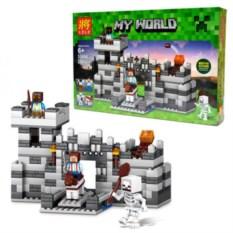 Конструктор Lele Minecraft Неприступная крепость