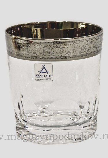 Набор 6 стаканов для виски Arnstadt Crystal Дворец