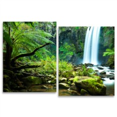 Модульная картина Амазонские джунгли