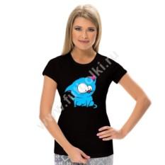 Женская футболка Котенок