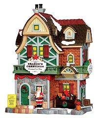 Керамический домик Магазин открыток