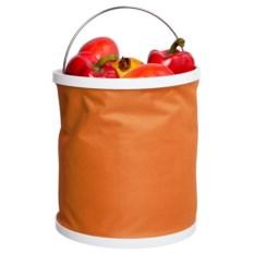 Оранжевое складное ведро Ranger