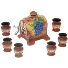 Винный набор с 6 рюмками Дегустатор