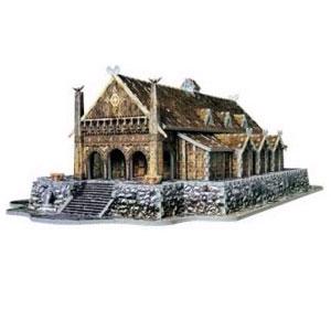 Пазлы: Замок Эдорас (с 3-х лет до 14лет)