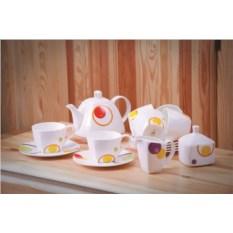 Чайный сервиз Круги 6 персон