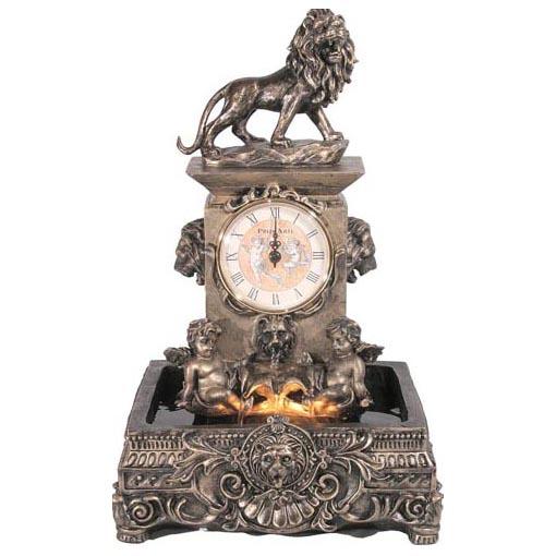 Фонтан «Часы со львом»