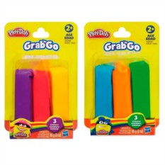 Набор из пластилина трех цветов Play-Doh