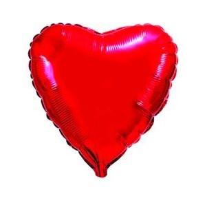 Сердце из фольги (80 см)