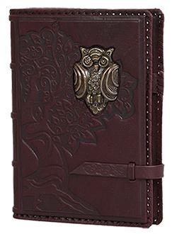Кожаный ежедневник формата А5 Мудрость