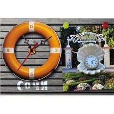 Сувенирные часы Сочи. Ривьера