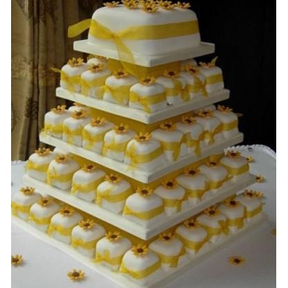 Свадебный торт №43
