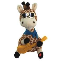 Мягкая поющая игрушка Влюбленный жираф